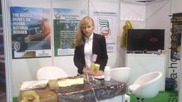 TŁUMACZ/ HOSTESSA/ PROMOTORKA dla Indian National Rubber podczas Expo Silesia