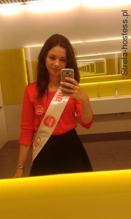 <p>Hostessa na otwarciu COOL CLUB</p>