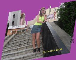 ja na schodach