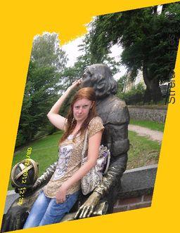 ja na wakacjach w Olsztynie
