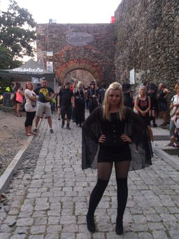 <p>W 2014 na Festiwalu Castle Party w Bolkowie</p>