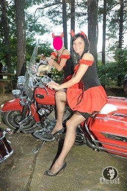 Akcja promocyjna napoju energetycznego Devil. Zlot motocyklowy 2011 Zielona Góra.