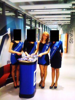 Hostessa VIP podczas koncertu Michaela Buble sponsorowanego przez Deutsche Bank